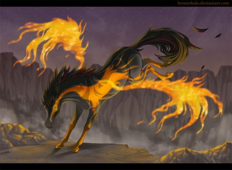 Flame Dance by BronzeHalo