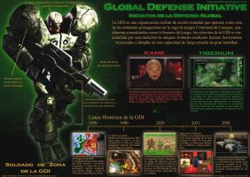 GDI infography in spanish by KaneNash