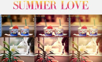 Summer Love photoshop actions by AssassinLenna