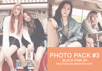 #3 PHOTOPACK - BLACK PINK by camcute