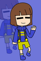 Outertale Frisk by xXkerrysweetXx