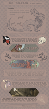 THE DELRIAN -  specie reference sheet by Necerti