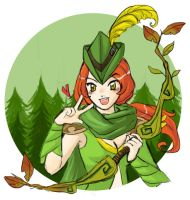 Dota2 - Huntress of the woods by spidercandy