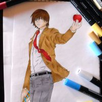 Death Note - Light Yagami by annikas-drawings