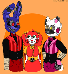 [FNAF] Circus Baby's New Friends by z8-r0