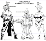Red Rickard Syx Height Chart by Scratchtastic