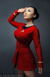 Anovos Officially Licensed Star Trek uniform by yayacosplay