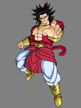 Broly SSJ4 Legendary by Gokuten