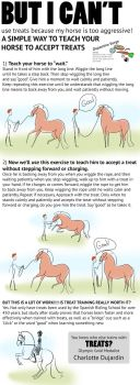 But I Can't Train My Horse with Treats (Tutorial) by carlylyn