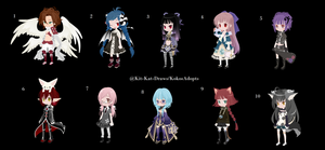 {WTA} DreamSelfy Random Adopts | Set 4 3/10 OPEN by KoKosAdopts
