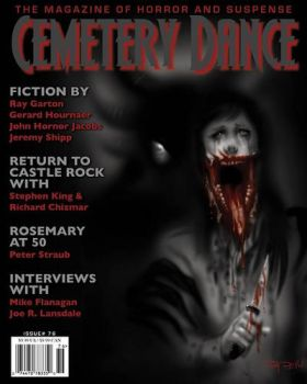 Cemetery Dance Magazine Cover Art by RayDillon