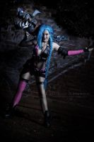 Jinx from League of Legends by ShiSha-Rainbow