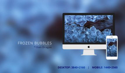Frozen Bubbles Wallpaper by dandragos