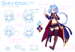[+Video] Commission - Frost Mage Serena by Hyanna-Natsu