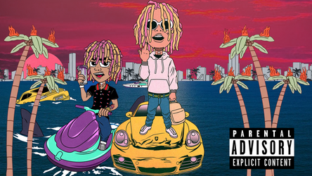 lil pump wallpaper by Bananamau5