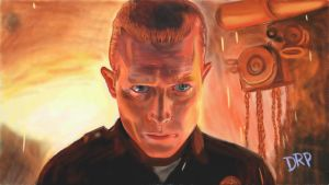 Terminator 2 Judgement Day T1000 Robert Patrick by davidpustansky