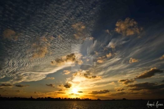Sunset from Alexandria by gladiator656