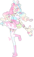 pastel harajuku adopt | auction closed by Hacuubii