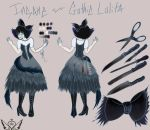 [Nightmare Fuel] Gothic Lolita by OpalesquePrincess