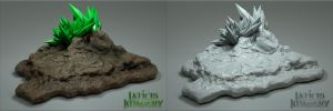 Laticis Imasgery FREE Object - Rock Scape by Laticis