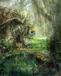 Home of the Swamp Blobber (revised) by PrimordialSeven