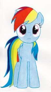 rainbow dash drawing by lucario0206