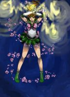 Sailor Jupiter 'Thunderbolt' c by PiCcoLa-LicAnTRoPA