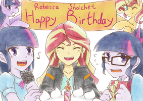 Happy Birthday, Rebecca Shoichet by Aka-Ryuga