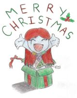 Merry Christmas -colored- by hollyberryx