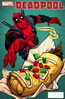 Deadpool Cover by dwaynebiddixart