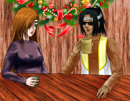 Warm drinks by Shenira