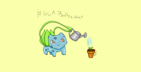 Bulbasaur #001 by Solaneae