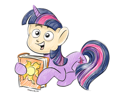 Orel's A Clever Pony by Raveneesimo