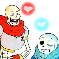 Sans and Papyrus 1 by The-NoiseMaker