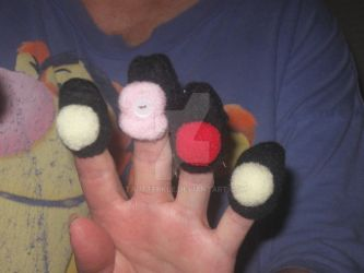 Finger Puppets by Tautterkle