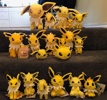 My jolteon collection update by JamJams
