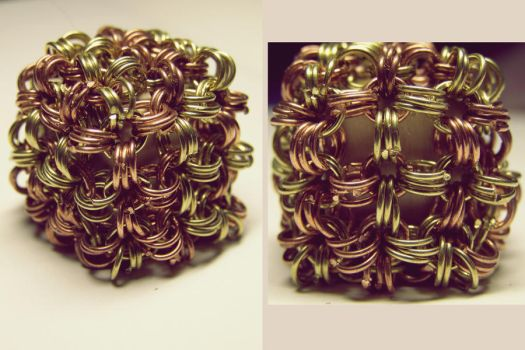 Maille_cube by ImbierinisSausainis