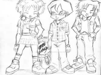 Code Lyoko Evolution: Character outfit concept 2 by artdemaurialashawn21