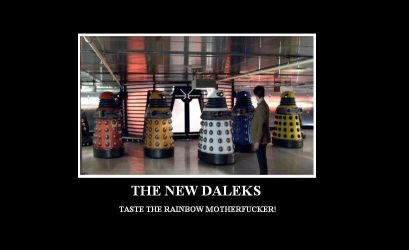 THE NEW DALEKS by warriorsofskaro1010