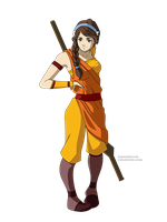 Airbender OC by SarahMillerCreations