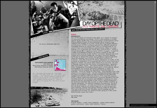 DayOfTheDead official website by screaminsilence