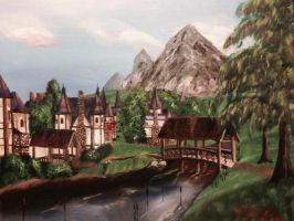 The Bridges of Cheydinhal by kdrmickey
