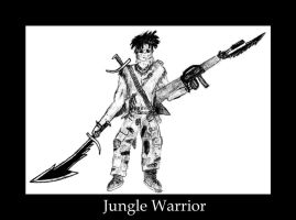 Jungle Warrior by life-is-trippy
