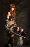 Barbarian Female Diablo 3 Cosplay by emilyrosa