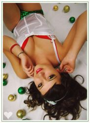 Innocent Holiday Pin Up by pinuplips