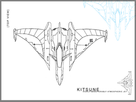 Kitsune - Ship Design by Nekosxe
