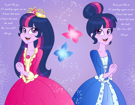 EQG: The Princess and the Pauper by PurfectPrincessGirl