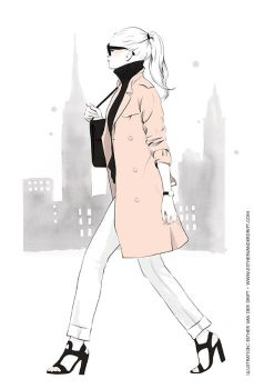New York City Girl by Lunai