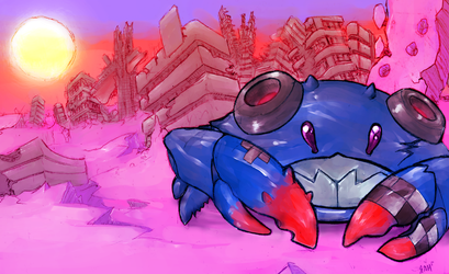Cannon Crab by Vamore