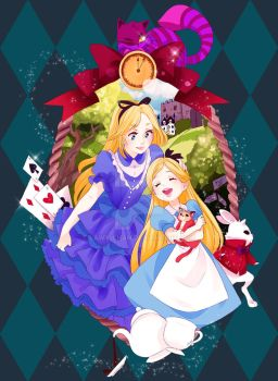 Alice in the wonderland by lawy-chan